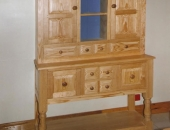 yellow-pine-dresser-with-open-rack