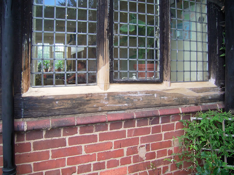 kitchen windows scarfed repair