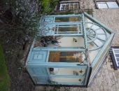 victorian porch in need of restoration