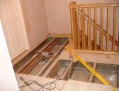 Levelling landing floor