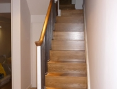 oak clad original stair case