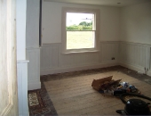 MDF T and G dado panelling