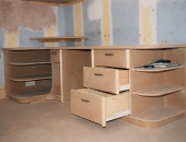 Students workstation desk in MDF with a modern design