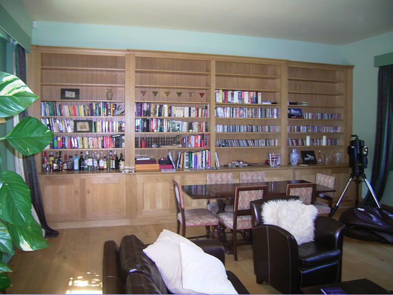 large-shaker-style-oak-bookcase-6-meters-wide