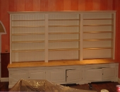 finished-bookcase-with-ash-worktop-and-lipped-shelves
