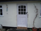 Georgian style stable door to match existing windows