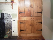 New doors and hinges to match existing above