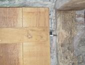Traditional oak ledge and brace door