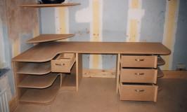 Student's bedroom workstation